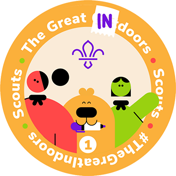 The Great Indoors Staged Activity Badge